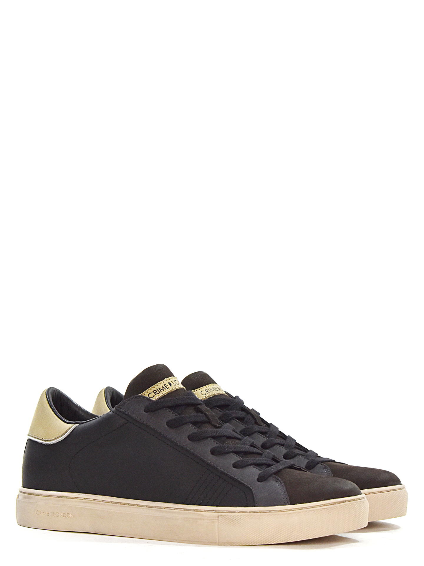 SNEAKERS CRIME LONDON 11605 NERO
