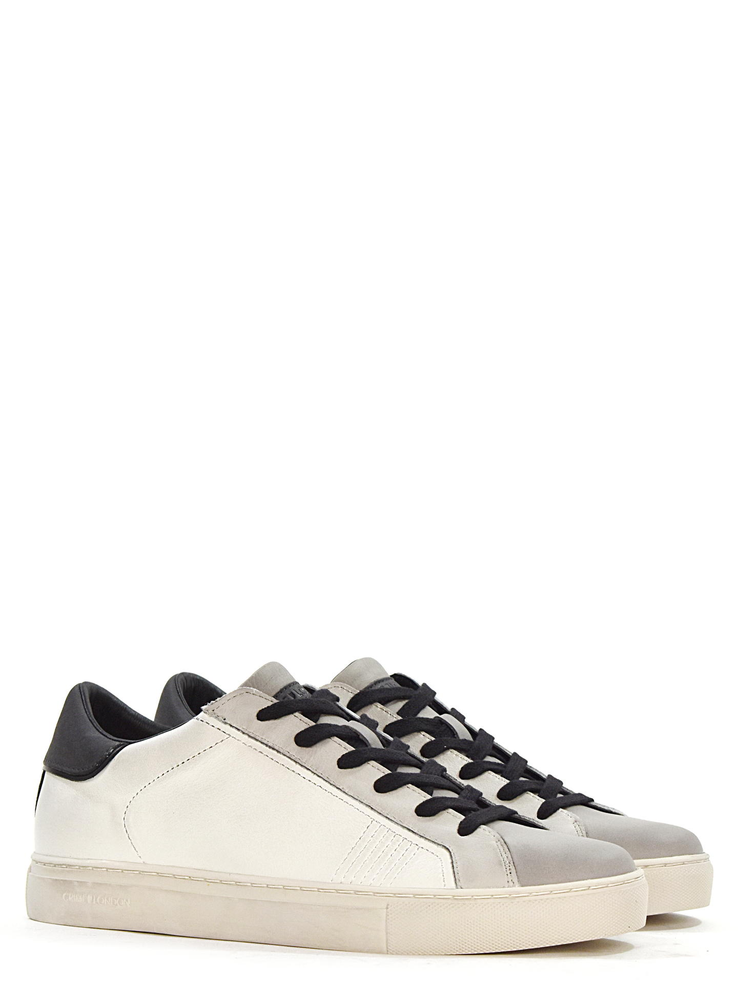 SNEAKERS CRIME LONDON 11606A BIANCO