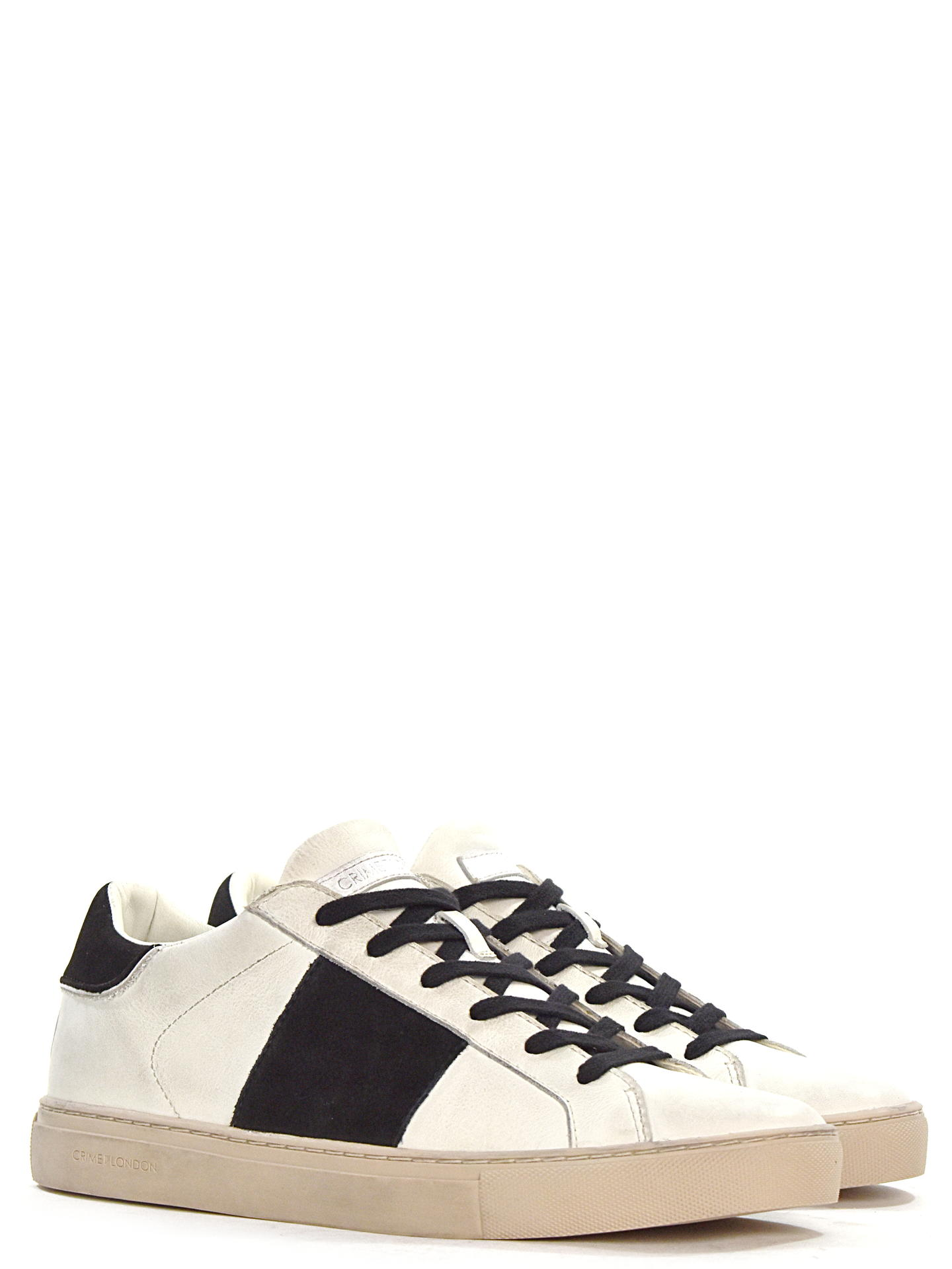 SNEAKERS CRIME LONDON 11639 BIANCO