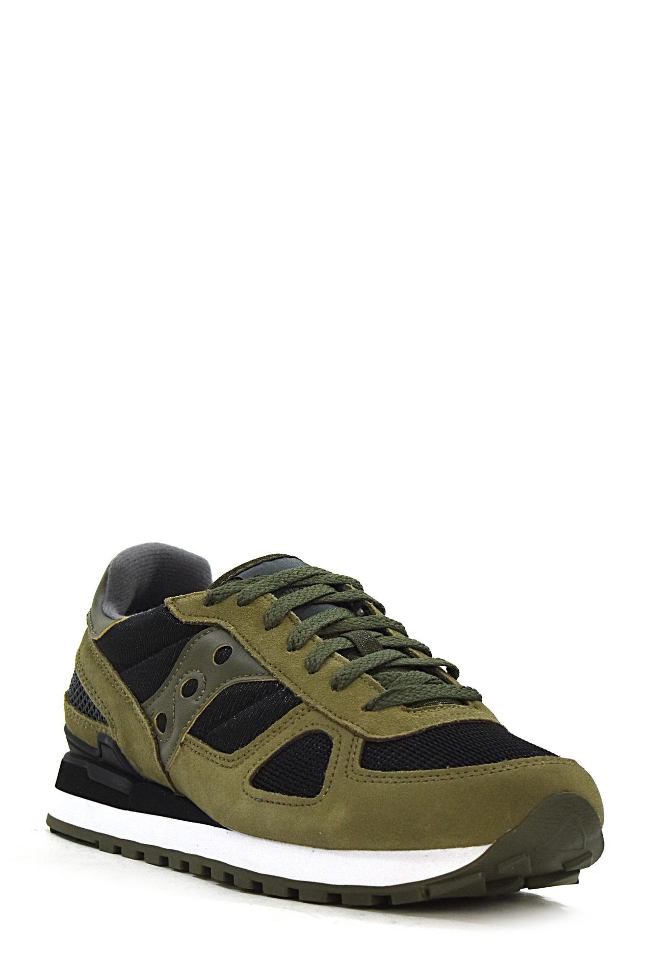 AML018/_SAUC Scarpe Sneakers SAUCONY Uomo Militare