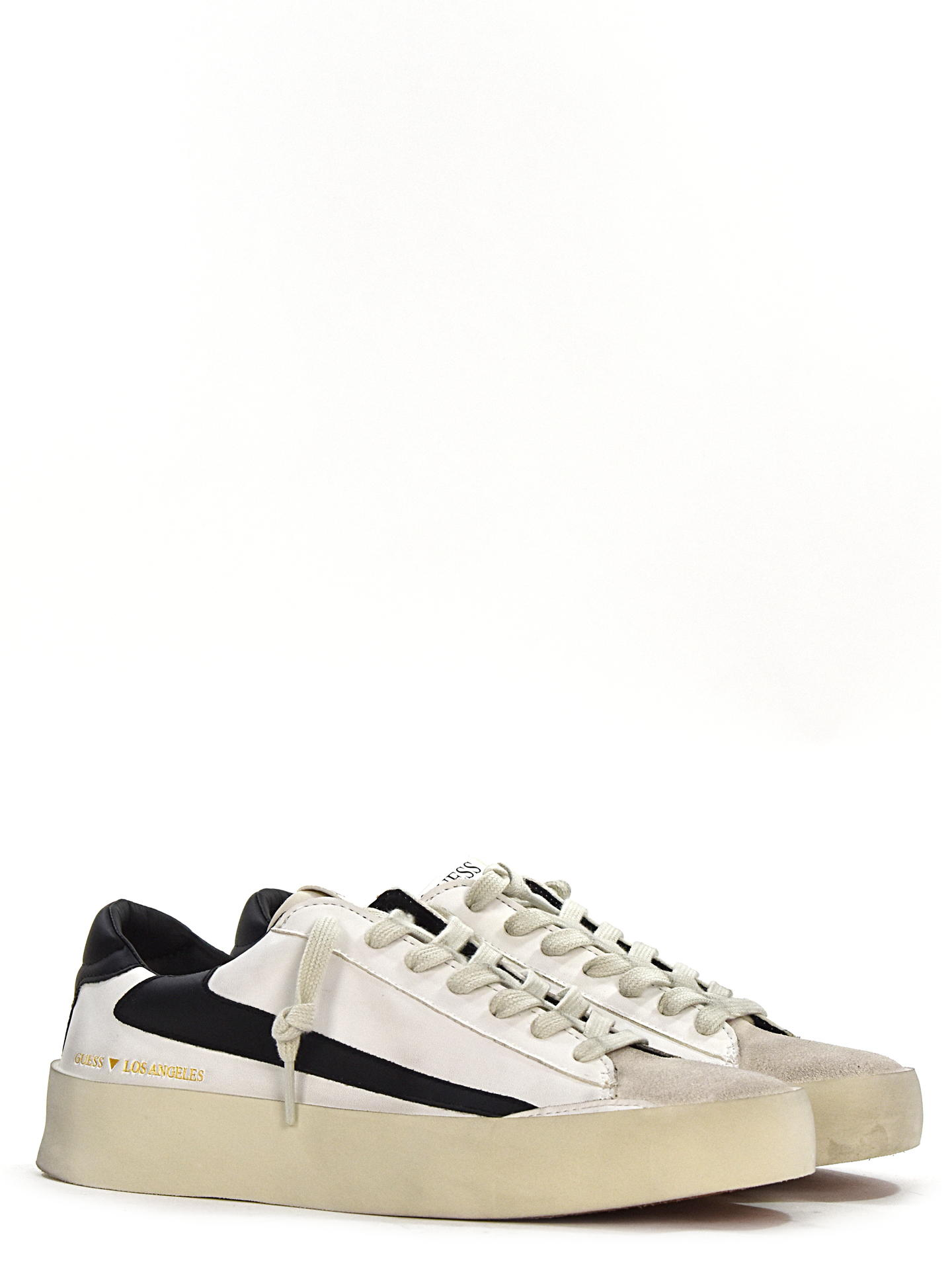 SNEAKERS GUESS FIR BIANCO/NERO